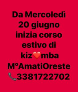 Kizomba, Latin Fiexpo, Oreste Amati, corso kizomba