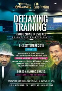 Dj Bi-One, Kizomba, Deejaying Training, Franco Attanasio